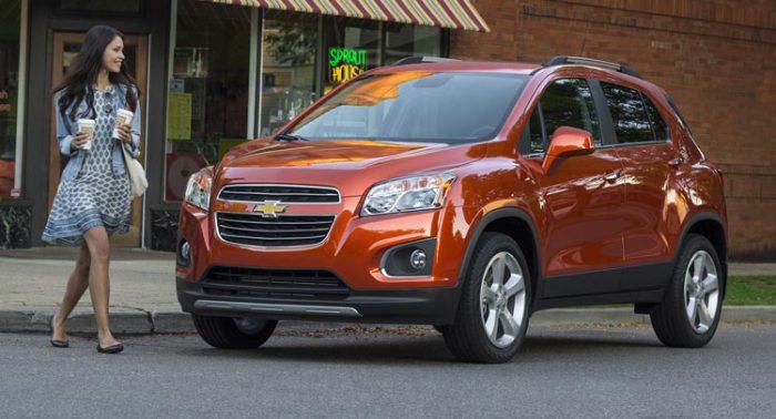 Chevrolet Trax и другие экономичные внедорожники.