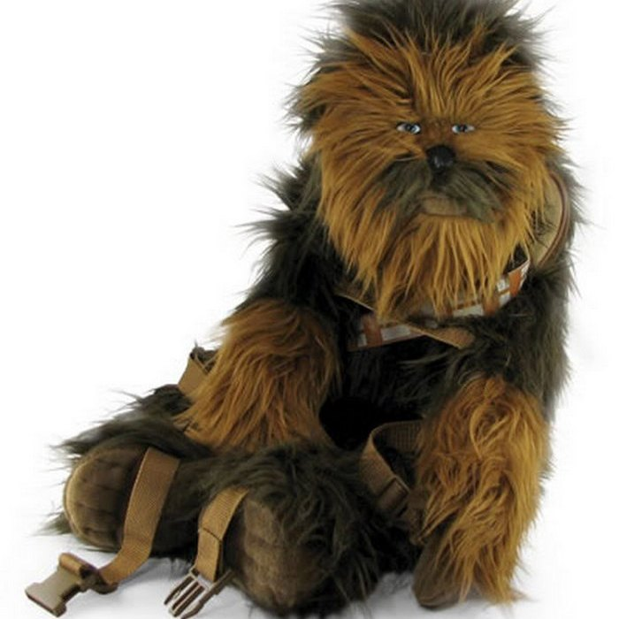Chewbacca Backpack: если ваш друг Чубаккаю
