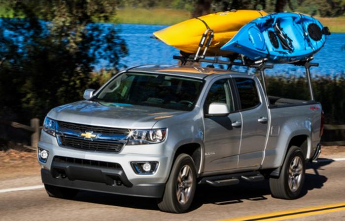 Chevrolet Colorado - и роскошный автомобиль бывает неприхотливым.