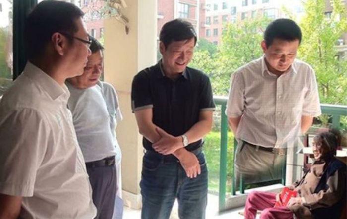 Встреча с китайской долгожительницей.