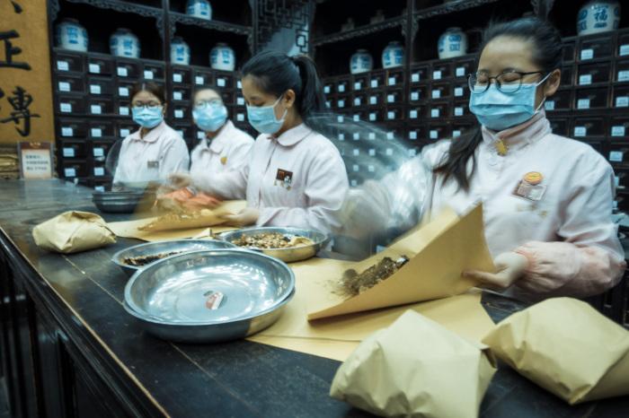 Обеденный перерыв в китайской поликлинике.