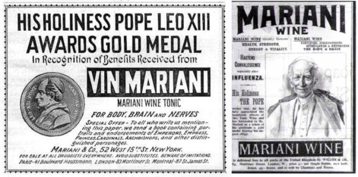 Vin Mariani выходит на рынок.