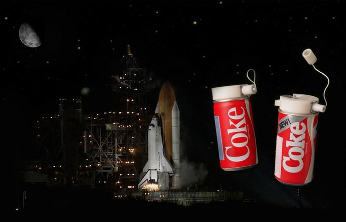 Удивительный факт о Coca-Cola: первый напиток на орбите.