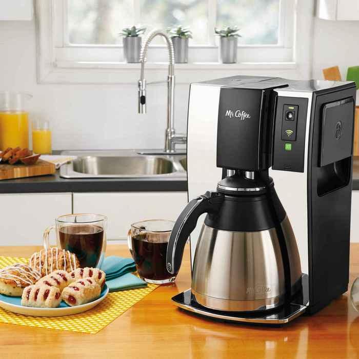 Кофеварка со встроенным Wi-Fi