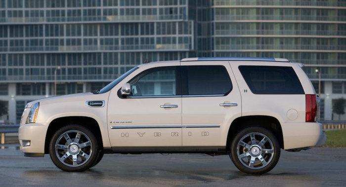 Гибридный Luxury SUV.