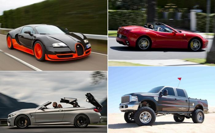 Автомобили для настоящих позёров.