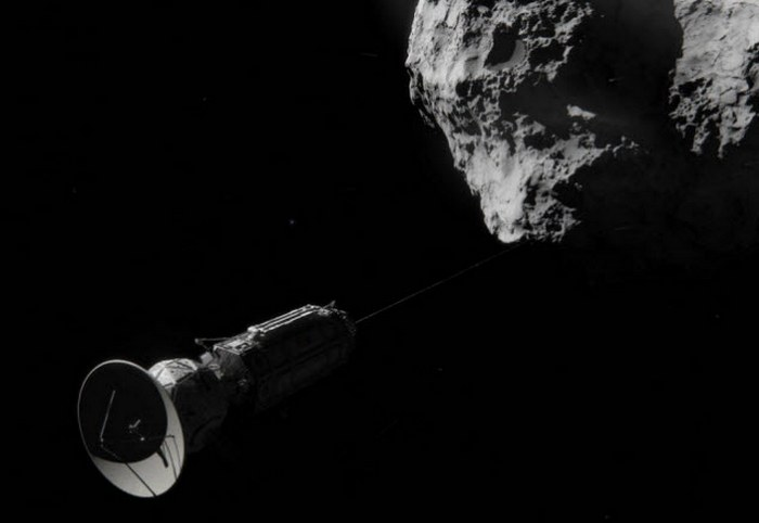 Автостопом на комете.
