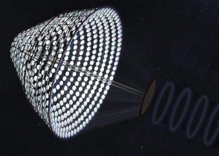 Генератор солнечной энергии SPS-ALPHA.