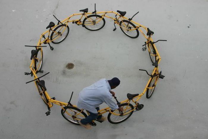 Велосипед-карусель и другие невероятные байко-идеи.