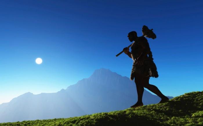 Неандертальцы - люди из прошлого.