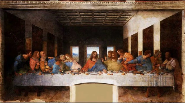 Тайная вечеря (1495—1498) - Леонардо да Винчи