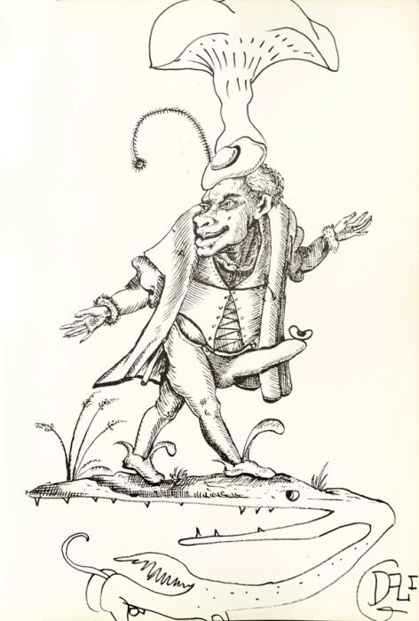 Иллюстрации Сальвадора Дали к кулинарной книге Les Diners de Gala.