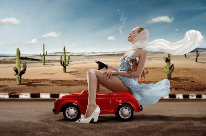 Автомобили для настоящих леди.