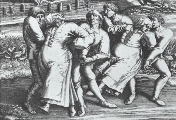 Массовая истерия: танцевальная чума.