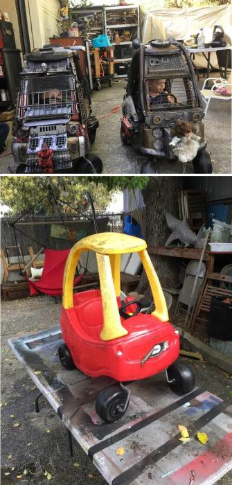 Детские автомобили в стиле «Безумного Макса»
