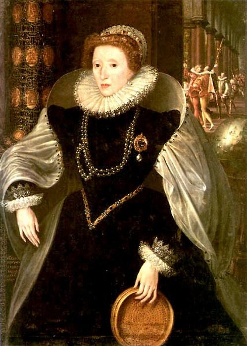 Елизавета I с решетом.