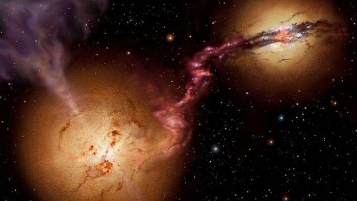 Черные дыры могут стать огромными
