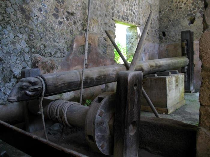 Древняя машина, которая помогала воевать.