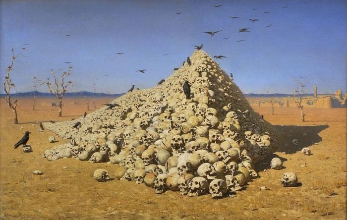 «Апофеоз войны» — картина русского художника Василия Васильевича Верещагина.
