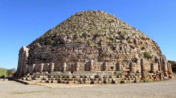 Королевский мавзолей Мавритании.