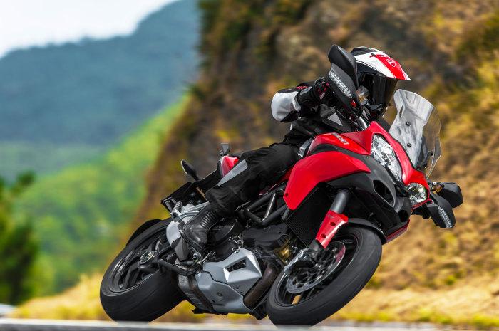 Multistrada 1200 - мотоцикл, от которого захватывает дух