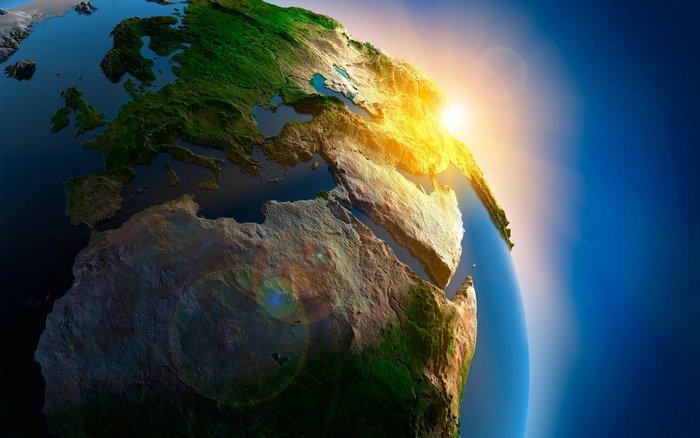 Как живёт планета Земля.