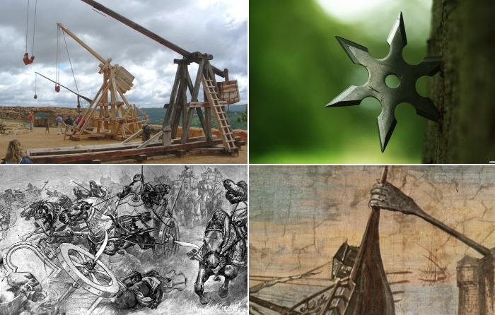 Самое эффективное средневековое оружие