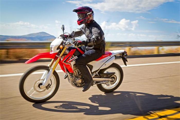 Honda CRF250L.