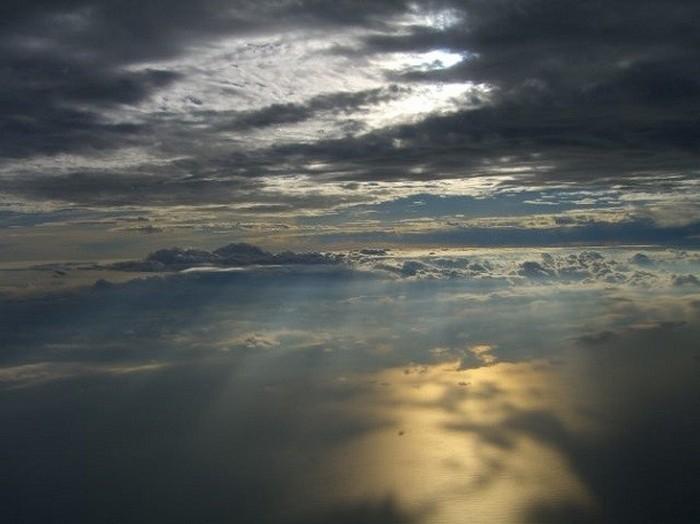 Cinco principais camadas atmosféricas.