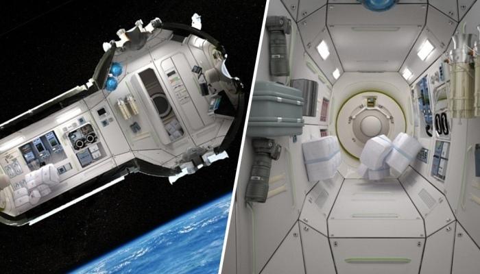 Так может выглядить космический отель Commercial Space Station.