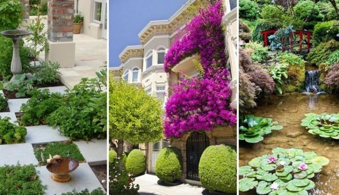 Вдохновляющие идеи ландшафтного дизайна, которые превратят садовый участок в волшебное место.