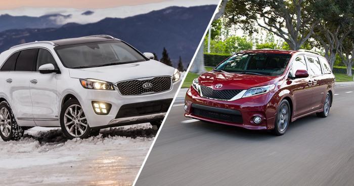 Лучшие автомобили 2016 года.