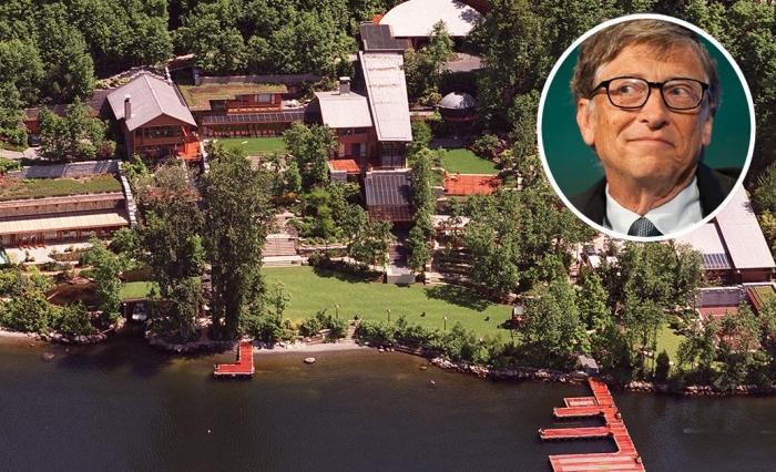 Самый уютный дом в мире: 15 любопытных фактов об особняке Билла Гейтса.