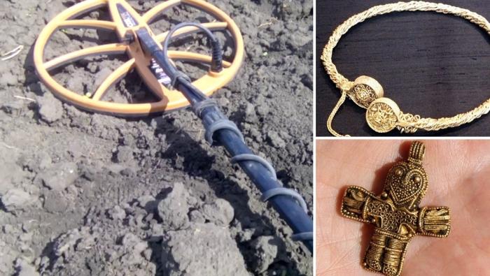 10 открытий, которые были сделаны с помощью металлоискателей.