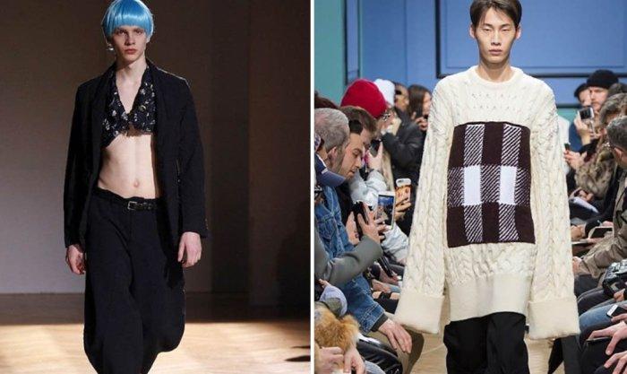 10 необычных трендов в мужской моде для самых отважных парней.