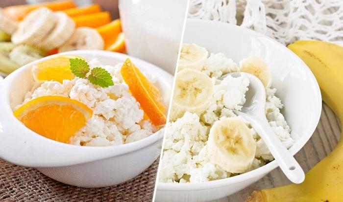 Вкусные и полезные завтраки с творогом, которые готовятся за одну минуту.