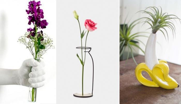 Необычные вазочки, которые помогут любой интерьер сделать стильным и уютным.