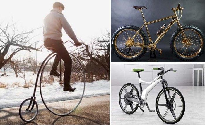 Самые дорогие в мире велосипеды.