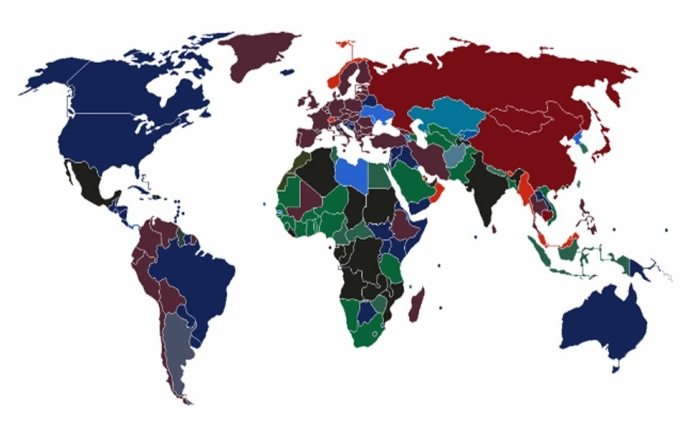 Карта паспортов. / Фото: www.arabtrvl.com