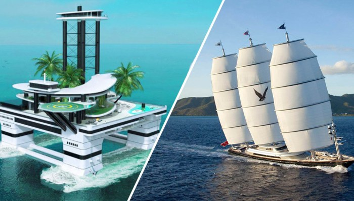 Самые роскошные яхты.