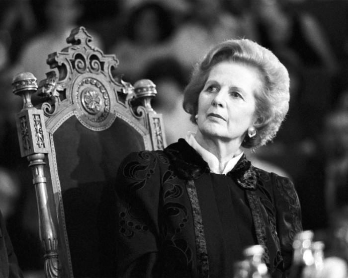 Маргарет Тэтчер - 71-й премьер-министр Великобритании в 1979—1990 годах.