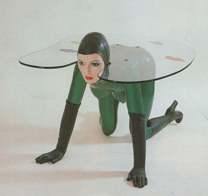 Одна из скульптур Аллена Джонса.