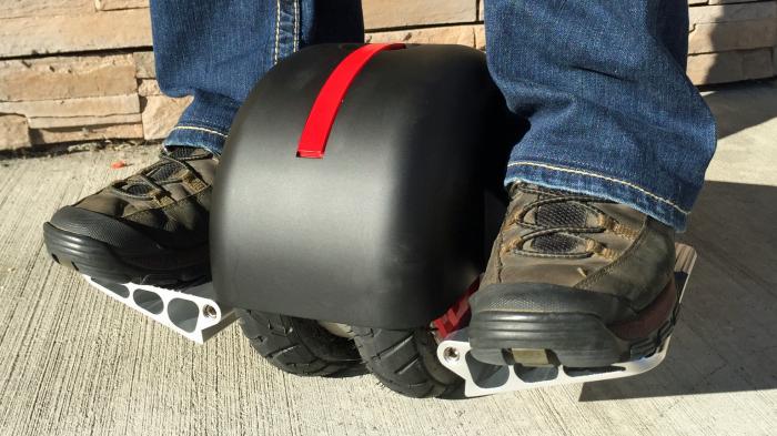 Моноцикл линейки Solowheel e-unicycle.