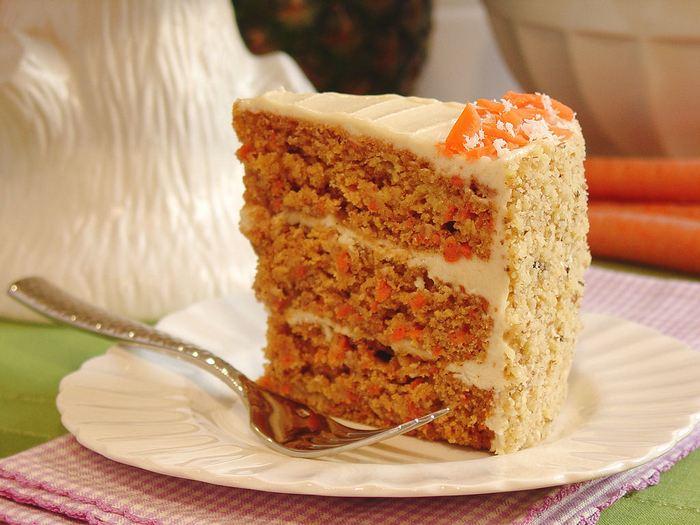 Морковный пирог.