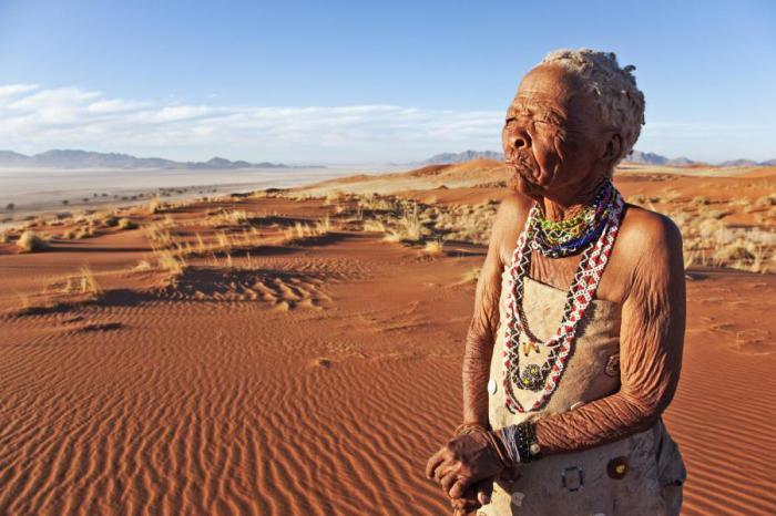 Женщина из консайского племени.