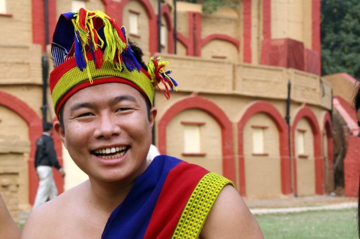 Представитель племени anal naga.