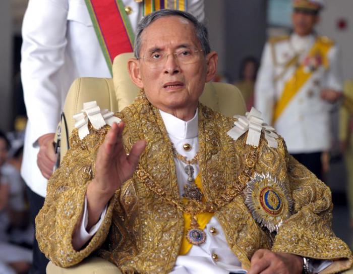 Язык для обращению к королю Таиланда.