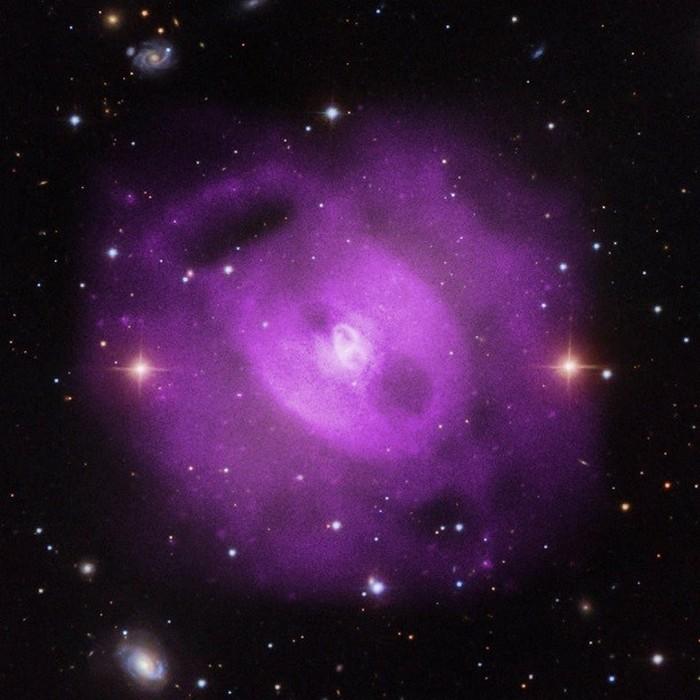 Галактические полости.