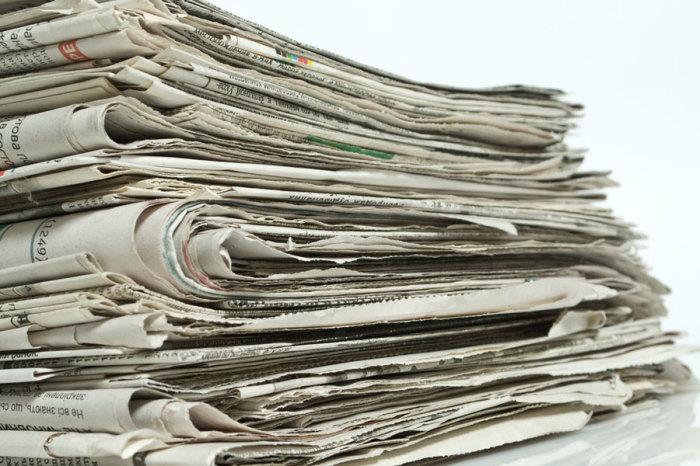 Газеты как пережиток пошлого.
