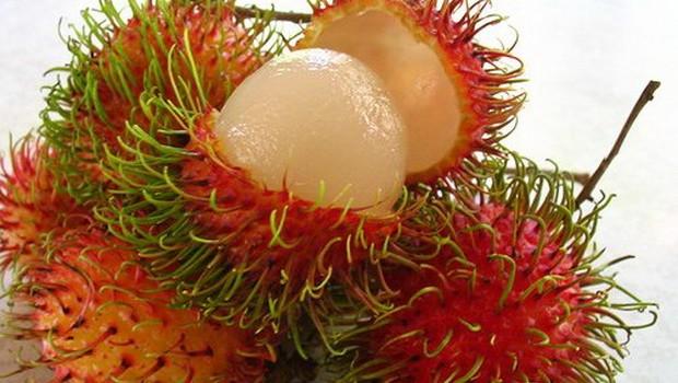 Рамбутан - невероятный тропический фрукт.